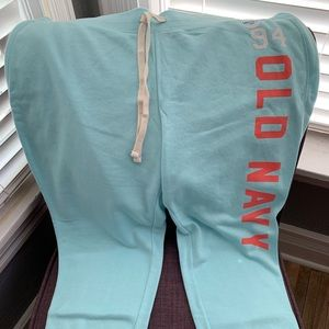 Old navy brand new with tags sweatpants capris